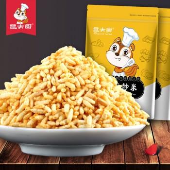 泰国炒米108gX2袋 办公休闲零食膨化小吃