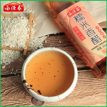 西源春糯米香醋450ml/瓶纯粮酿造柘荣米醋烹饪醋