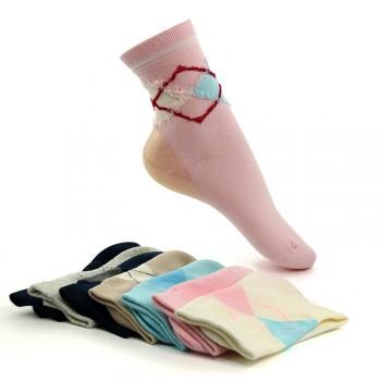 3双装 防裂袜 防止脚后跟龟裂开裂 冬季袜子