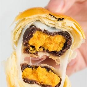 雪媚娘蛋黄酥330g共6个装 海鸭蛋蛋黄酥冰皮麻薯