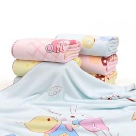 婴儿浴巾超柔软宝宝抱被比纯棉纱布吸水加厚毛巾被