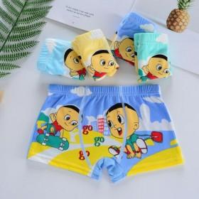 包邮【4条】儿童内裤平角四角裤男童内裤可爱卡通女童