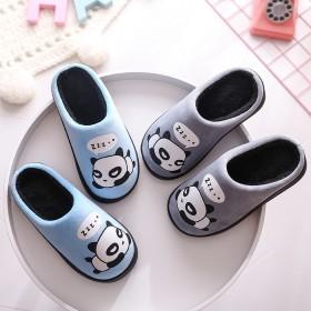 儿童家居亲子棉拖鞋一家三口卡通可爱保暖拖鞋毛绒低包