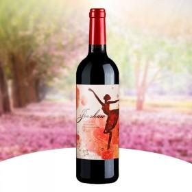 法国原酒进口红葡萄酒甜型750ML单瓶女士甜红酒