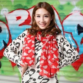 韩版女士围巾长款秋冬保暖装饰丝巾