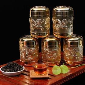 特级正山小种红茶桂圆香新茶茶叶2罐装140g