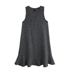 2018秋冬季新款女小香风毛衣背心裙子两件套装
