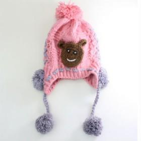 可爱女士帽 百搭毛线帽 秋冬季针织毛线帽