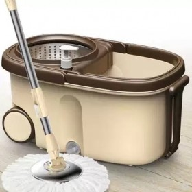 3个头钢篮钢盘旋转拖把拖把桶拖布家用拖地桶拖布