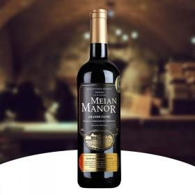 法国进口红酒750ML单支原酒干红葡萄酒赤霞珠红酒
