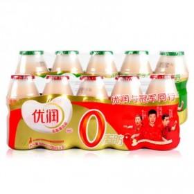 优润乳酸菌100ml原味草莓味各5瓶共10瓶