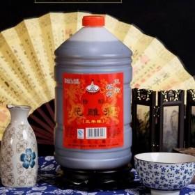 绍兴黄酒三年陈5斤桶装半干型手工花雕酒糯米米酒老酒