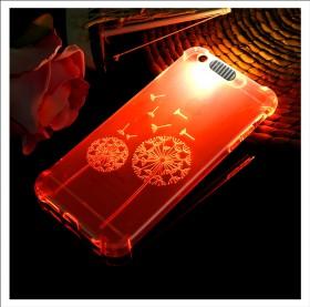 iphone5 6 7时尚来电闪保护套软壳气囊壳