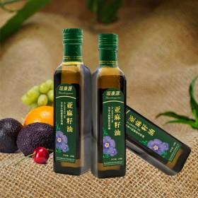 亚麻籽油食用油冷榨宝宝油