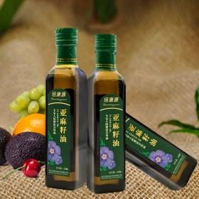亚麻籽油食用油纯天然