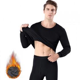 冬季男士保暖内衣套装加绒加厚套装秋衣秋裤打底抓绒