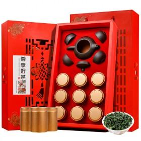 送紫砂茶具小金罐装茶大师作乌龙茶安溪铁观音茶叶清浓