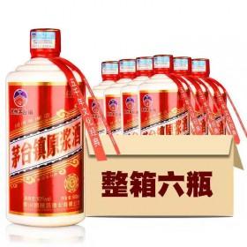 【6瓶 500ML】贵州原浆酒酱香型53度粮食酿