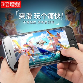 iphone6s钢化膜6plus苹果7手机膜8P膜