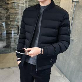男士棉衣外套2018冬季新款潮流韩版帅气加厚短款棉