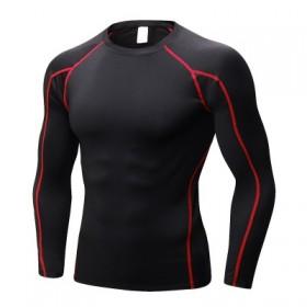 健身服速干衣跑步篮球运动紧身衣训练服健身衣