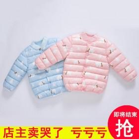 儿童羽绒棉服内胆男童女童棉袄服宝宝婴幼儿韩版短外套