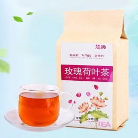 女士养生生 玫瑰荷叶茶组合花草茶