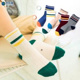 【5双】儿童棉袜秋冬加厚袜子地板袜宝宝婴儿棉袜加厚