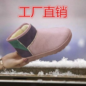 雪地靴女马丁靴女短靴女棉鞋女冬季加绒加厚保暖