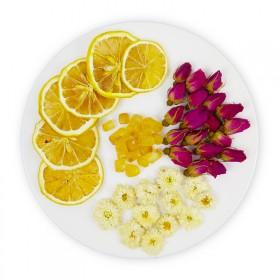 20包冬季柠檬菊花玫瑰冰糖组合花茶清热去火茶下火茶