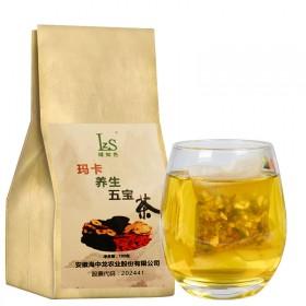玛卡养生五宝茶男用式玛咖黄精红枣枸杞桑葚组合花茶