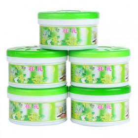 5盒空气清新剂固体清香剂厕所卫生间除臭车内除异味