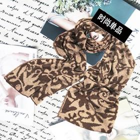 围巾男冬季新款百搭韩版简约男士围巾针织