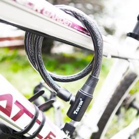 通用TONYON自行车锁电瓶车防盗钢缆锁