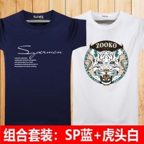 买一送一!男士短袖T恤宽松打底衫
