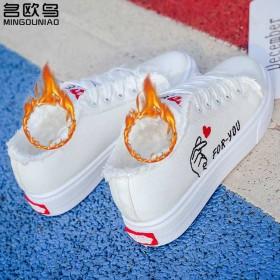 名欧鸟帆布鞋女鞋子学生韩版百搭原宿夏季小白鞋平底板