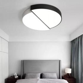 led圆形吸顶灯家用客厅简约现代小户型创意卧室灯