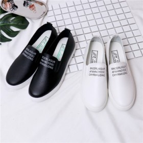 女鞋 小白鞋 乐福鞋子