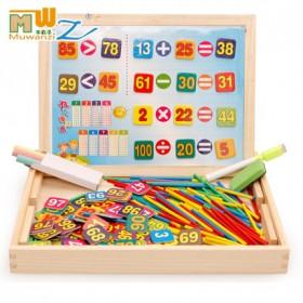 幼儿园小学一年级计数器套装算术数数棒蒙氏数学教玩具