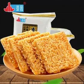 香酥净重4斤米锅巴香辣味特产办公室休闲零食