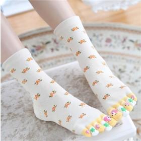 【包邮】【尝鲜不一样的袜子】2双装四季五指袜