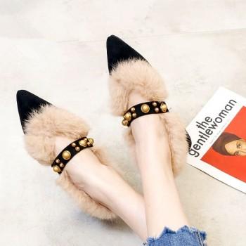 【真兔毛】限量抢!馨嘉妮保暖毛毛鞋