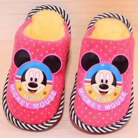 宝宝棉拖鞋2-6岁冬季男童防滑软底儿童室内女幼儿棉