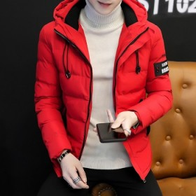 男士棉衣冬季2018新款韩版潮流帅气加厚青年羽绒棉