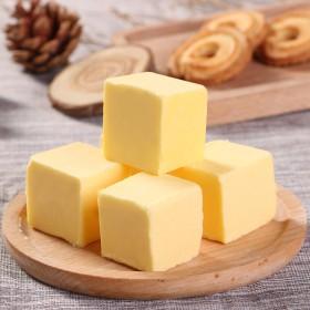 500g 无盐食用黄油奶油烘焙家用做面包饼干爆米