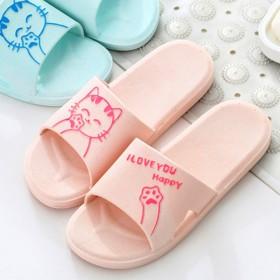 缀新品拖鞋女家用室内凉拖鞋浴室拖鞋软底居家防滑拖鞋