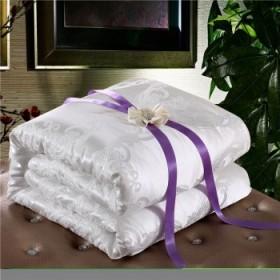 罗莱蚕丝被8斤品牌桑蚕丝被冬被被芯