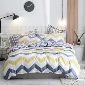 床上用品全棉四件套纯棉斜纹四件套床单