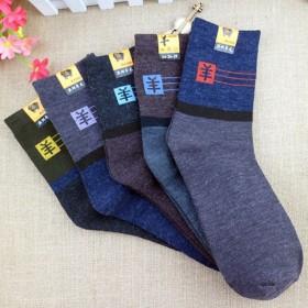 羊毛保暖袜冬季时尚
