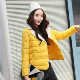 2018冬季棉衣女短款学生时尚百搭小棉袄韩版女装棉